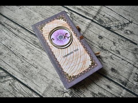"""Junk Journals Flip Through \ Woman's Journal \ """"The Flower"""""""