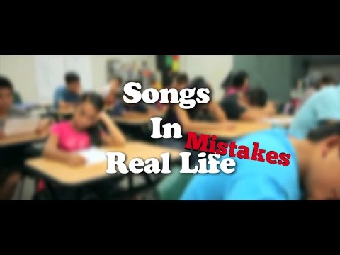 Mistakes Of SONGS IN REAL LIFE KIDS STYLE (Citrus Middle School Edition) (By Chris G Plays)