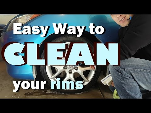 Easy Way to Clean Your Rims!
