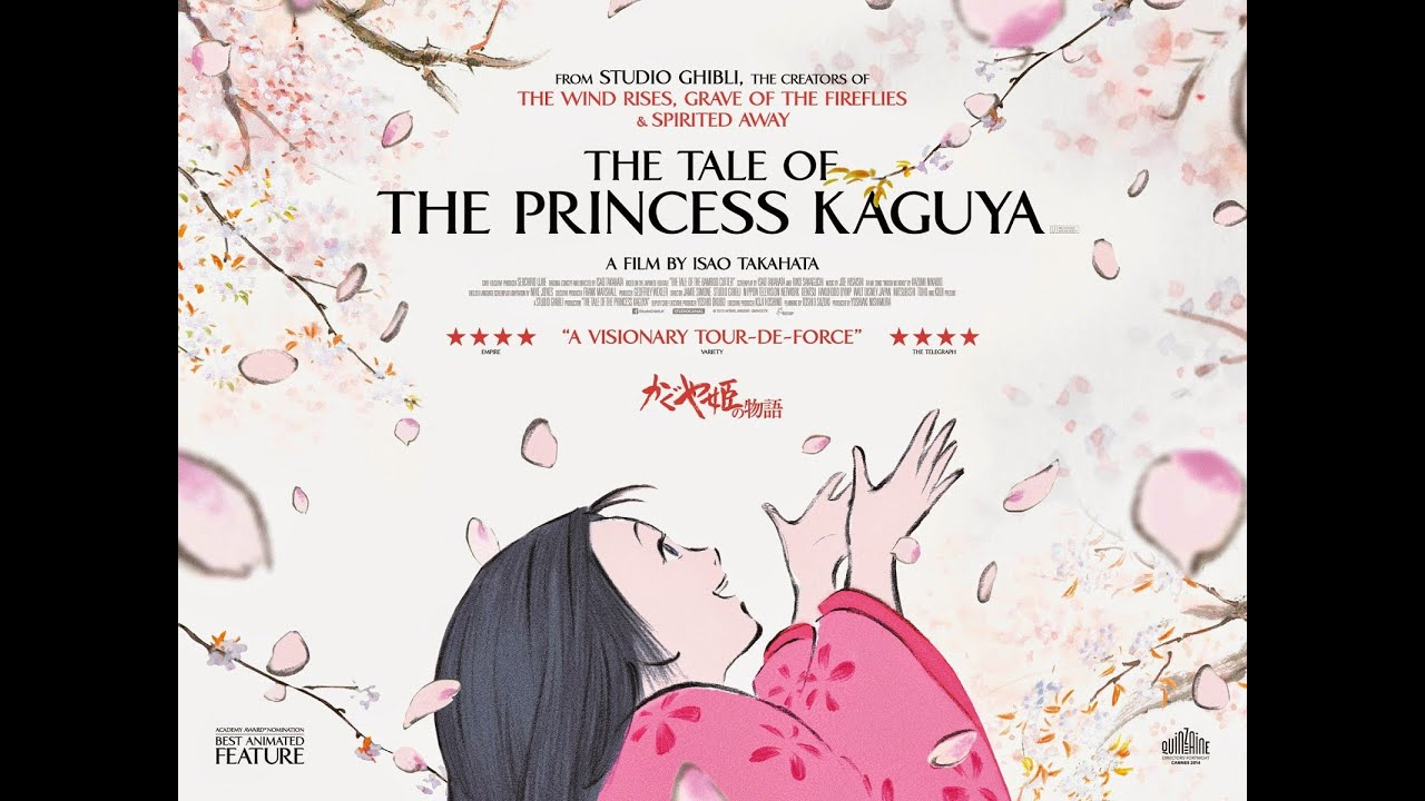 The Tale of The Princess Kaguya (2013) - Movie Review