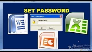 vuclip how to set password to ms word , ms excel sheet, ppt file