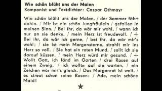 Jugendchor Berlin - Wie schön blüht uns der Maien