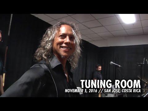 Metallica: Tuning Room (MetOnTour - San José, Costa Rica - 2016) Thumbnail image