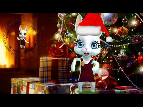 Zoobe Зайка С Новым 2019 Годом, задорное поздравление! - Лучшие приколы. Самое прикольное смешное видео!