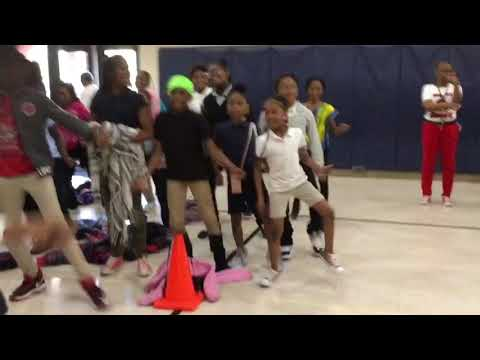 Katie Wright Elementary Black Panther Challenge