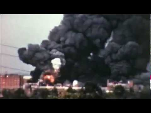 1960 Deadly Eastman Explosion - Kingsport , TN  - With Audio