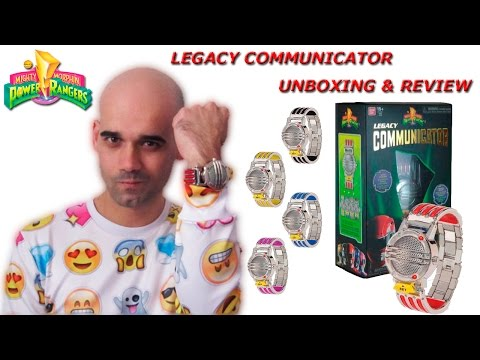 ¡¡¡UNBOXING & REVIEW!!! MIGHTY MORPHIN POWER RANGERS LEGACY COMMUNICATOR