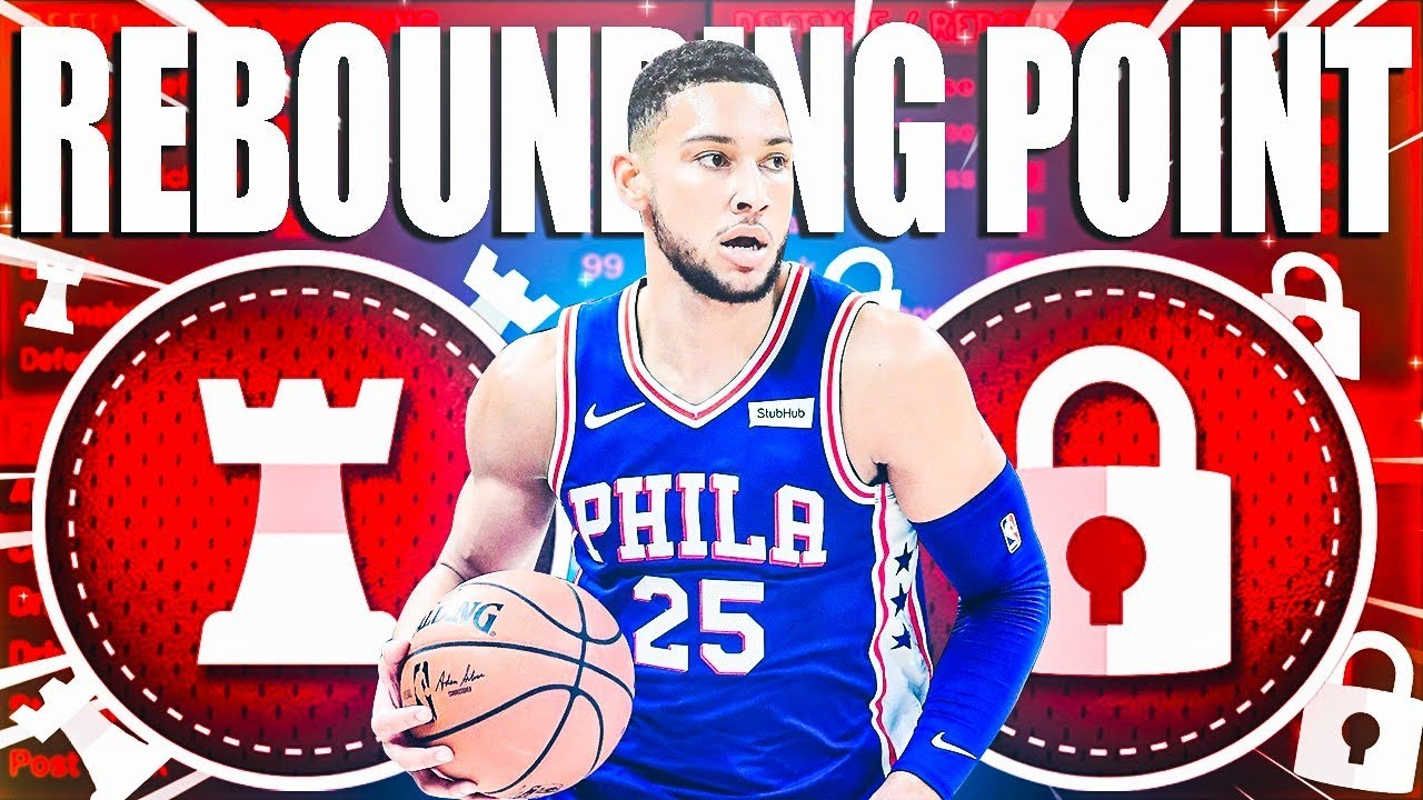 HOW TO MAKE A REBOUNDING POINT ON NBA 2K20! RARE BUILD SERIES VOL. 138