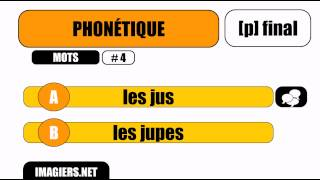 Learn French #Pronounciation #p final