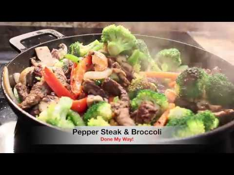 Pepper Steak & Broccoli