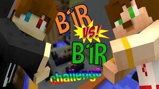 Minecraft Bir vs Bir Challenge ! (Amiral Battı)