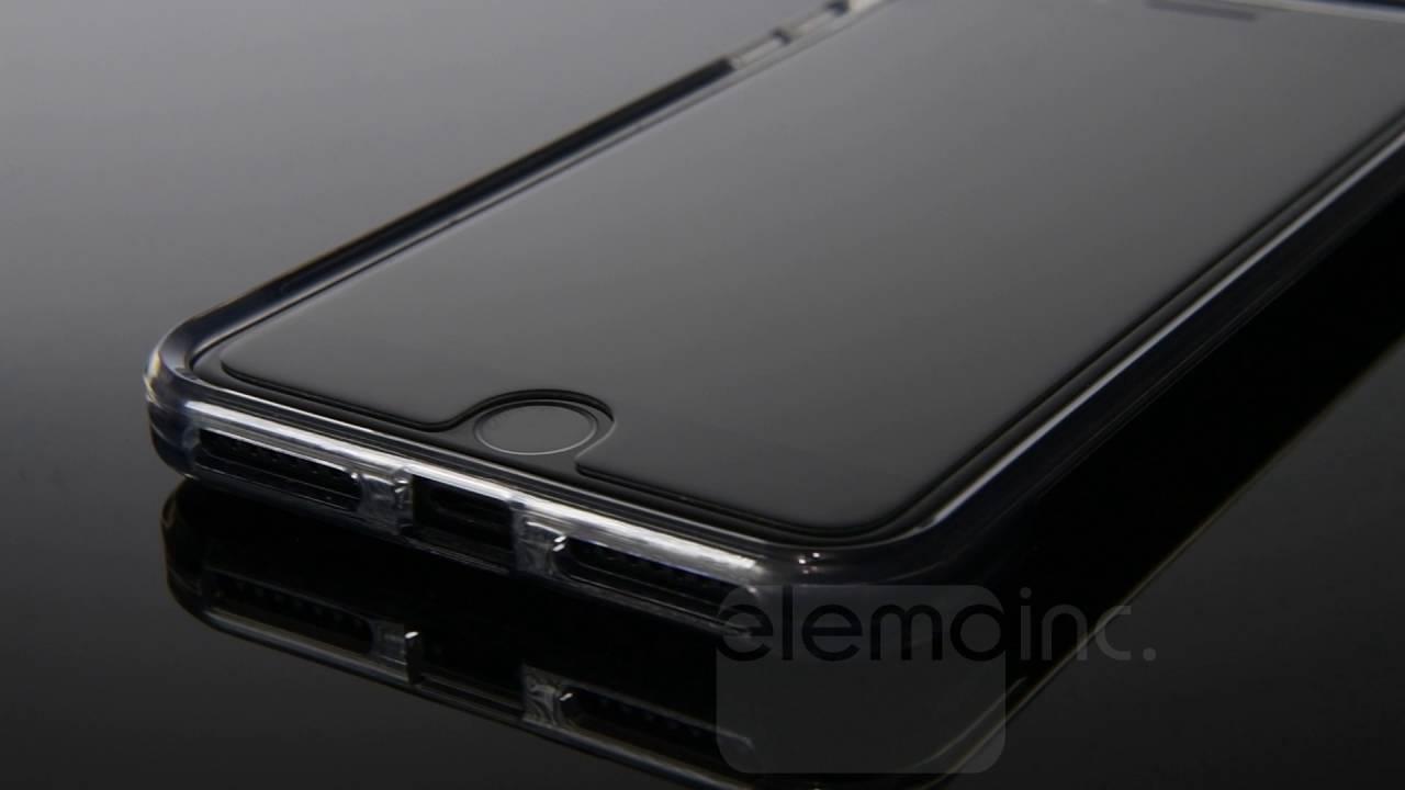 lowest price 3f1b9 538b4 PureGear DualTek PRO in Black on an Apple iPhone 7 Plus (5.5