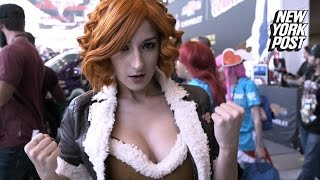 I'm a sexy cosplayer, stop harassing me