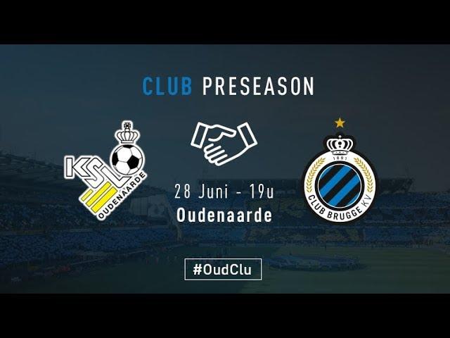 OUDENAARDE - CLUB BRUGGE   Matchverslag   Oefenwedstrijd    2017-2018