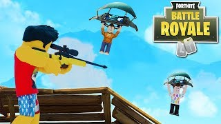 ROBLOX YouTubers Play Fortnite Pt. 2 w/ Seniac, Matrix, NubNeb