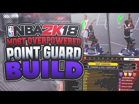 NBA 2K18 MOST OVERPOWERED POINT GUARD ARCHETYPE! GREEN LIGHT JUMPSHOT 🔥🔥 *MUST WATCH*