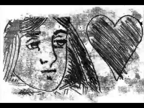 Queen of Hearts Monoprint Animation
