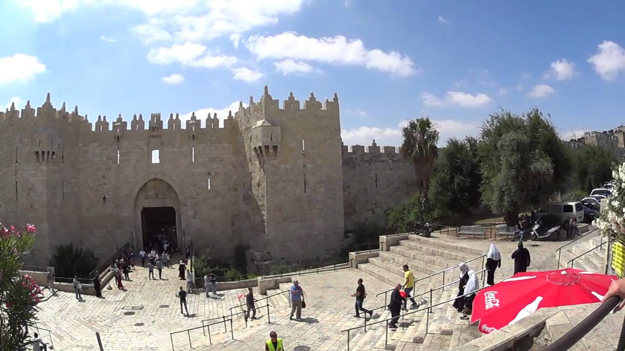The story of the Damascus Gate, the Old City of Jerusalem
