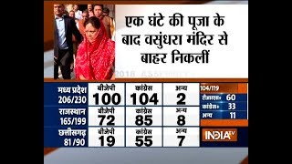 Assembly Election Trends: Blow to BJP, Congress leads in MP, Rajasthan and Chattisgarh