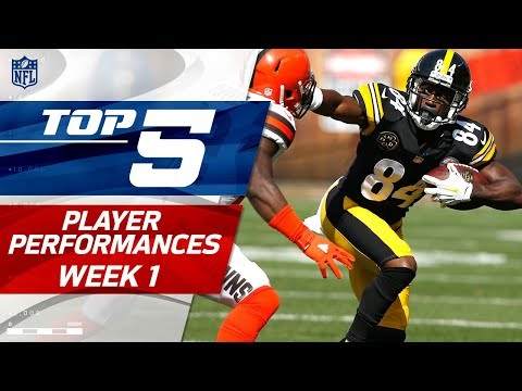 Top 5 Player Performances of Week 1 | NFL Highlights