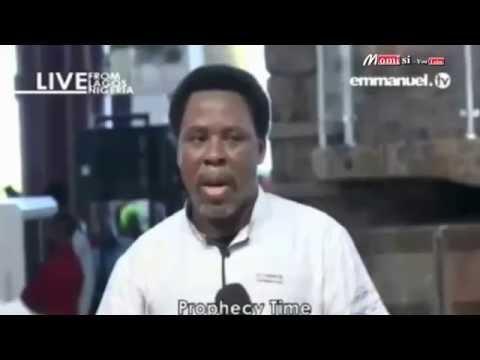 TB Joshua predicts Hillary Clinton as winner of US election