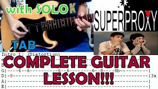 Superproxy  Francis M feat Ely Buendia(Complete Guitar LessonCover)with Chords and Tab