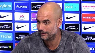 Pep Guardiola Embargoed Pre-Match Press Conference - Crystal Palace v Man City - Premier League