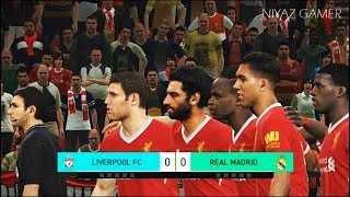 LIVERPOOL FC vs REAL MADRID | Penalty Shootout | PES 2018 Gameplay PC
