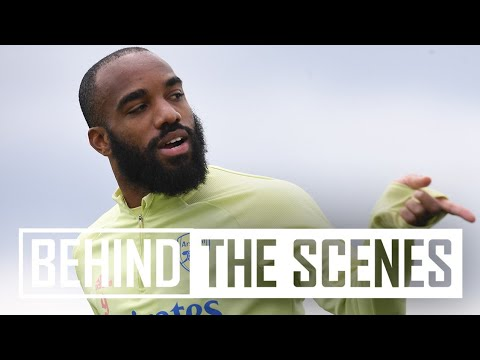 Fabulous finishing and stunning saves! | Behind the scenes at Arsenal Training Centre