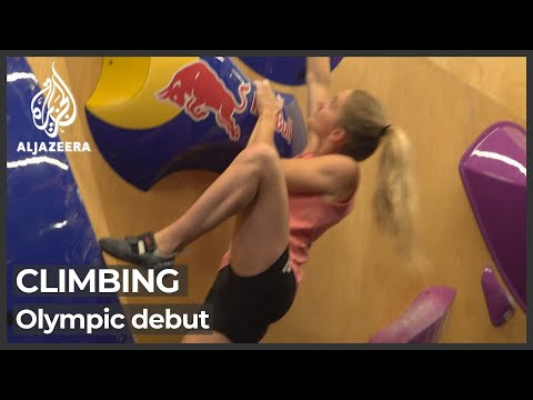 Sport climbing to make Olympic debut in Tokyo