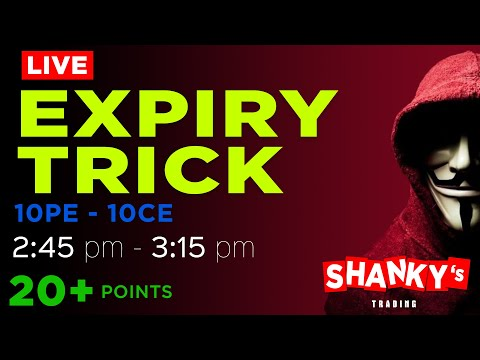 19th November Live Trading in NSE  Banknifty  Nifty50  Expiry Day Trick  Price Action CPR Trading