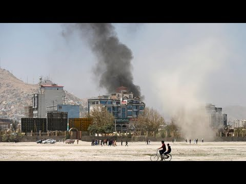 Kabul is hit with a missile strike
