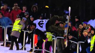 Arthur Longo - Final run at the Arctic Challenge Halfpipe 2013