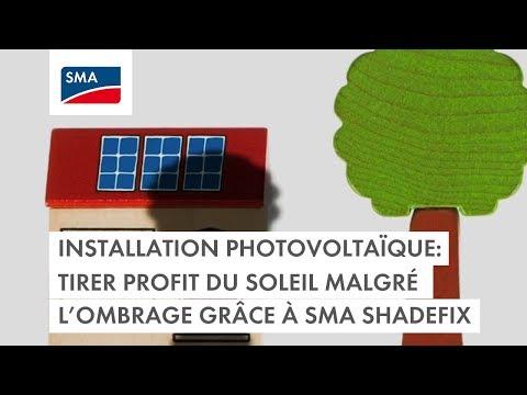 Installation photovoltaïque: tirer profit du soleil malgré l'ombrage grâce à SMA ShadeFix