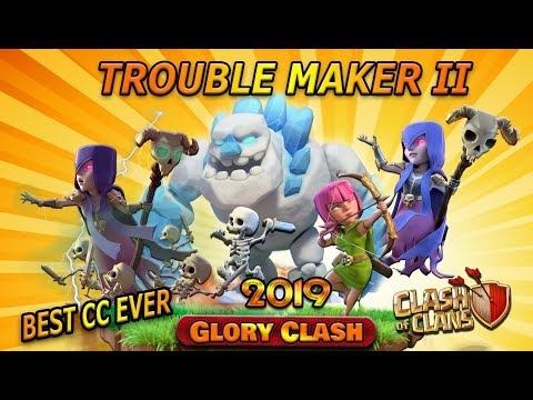 COC Trouble Maker Vol.02 /Best Th12 Defensive Clan Castle Troops/best Cc Troops Ever/Clash Of Clans