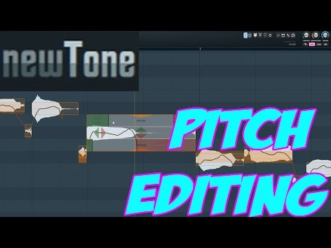 How To Use Newtone in FL Studio - Manual Pitch Editing Tutorial
