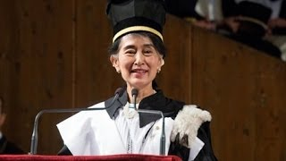 Discorso dottorale di Aung San Suu Kyi
