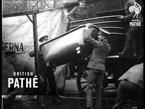 Portable Baths For British Soldiers (1914-1918)