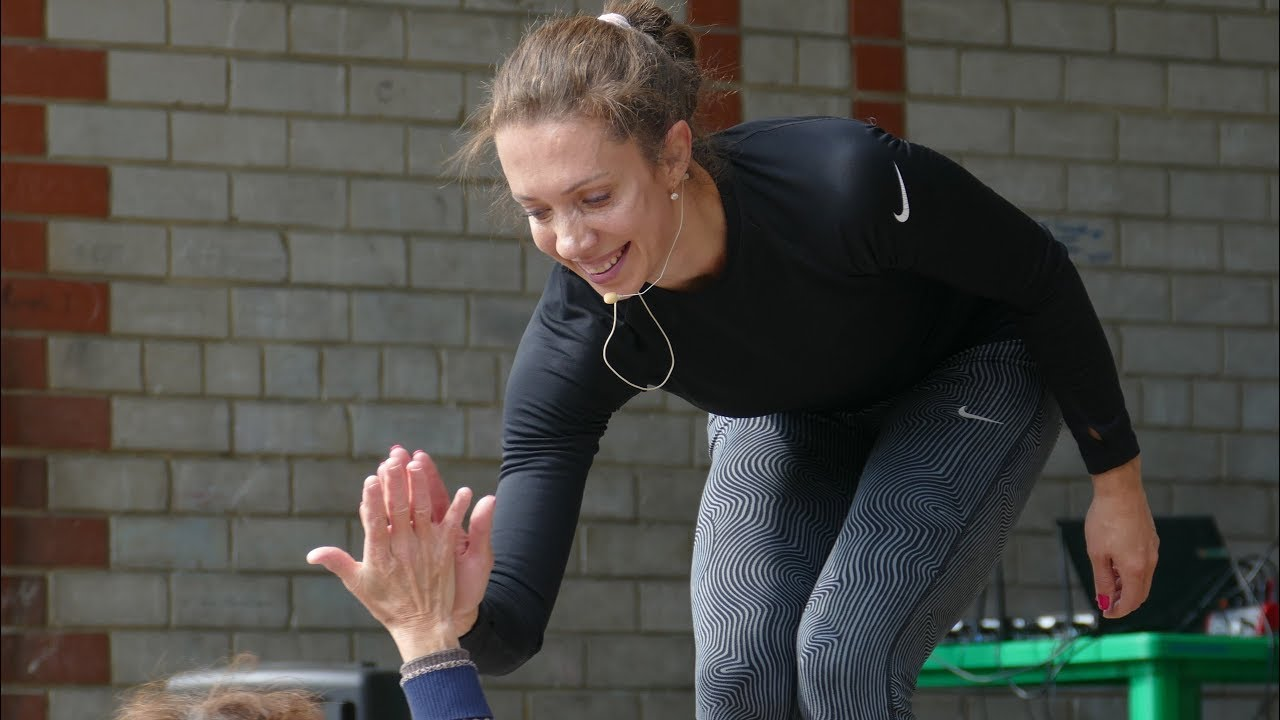 фитнес аэробика -  чемпионка Европы Дарья Терехова