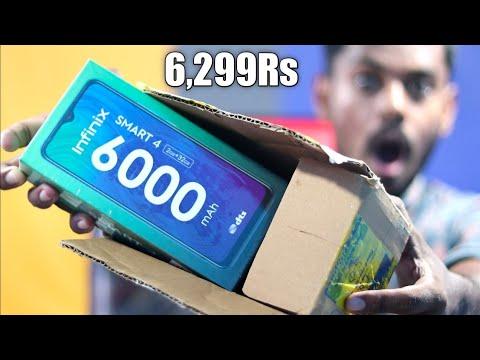 Infinix Smart 4 Unboxing Flipkart Big Diwali Sale Unit Only ₹6,299