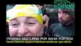 31Tv Vive Casablanca/Noticias/Travesía nocturna por bahía organizada por el Tiburón Contreras