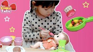 [웃기는 장면모음]슬라임베프 액체괴물 | 콩순이 아기돌보기 장난감 놀이 | 치과 놀이 LimeTube & Toy 라임튜브