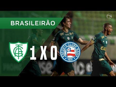 AMÉRICA-MG 1 X 0 BAHIA - GOL - 25/11 - BRASILEIRÃO 2018