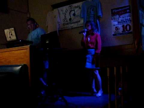 Arynne Morich at Sweet Tunes Entertainment Karaoke