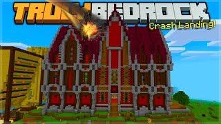 I CRASHED INTO THE TRULY BEDROCK MINECRAFT REALM! Episode 0