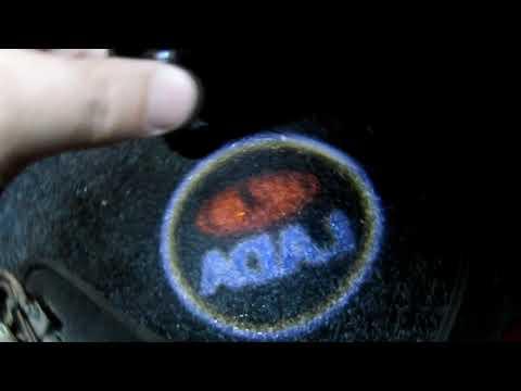 Супер подсветка на двери с логотипом LADA из Китая (проверено можно брать)