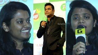 AR Rahman's Hello Mister Ethirkatchi sung by 7up Finalist Geethanjali