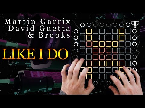 Martin Garrix, David Guetta & Brooks  LIKE I DO  Launchpad Performance