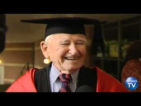 97 Year Old Man Becomes World's Oldest Masters Graduate
