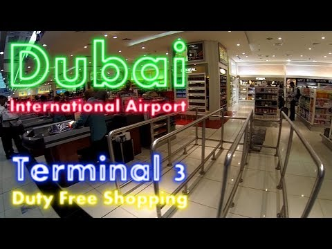 GoPro | Dubai International Airport | Terminal 3 Duty Free Shopping | Flight EK29 | #1